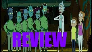 Rick and Morty Review: Auto Erotic Assimilation