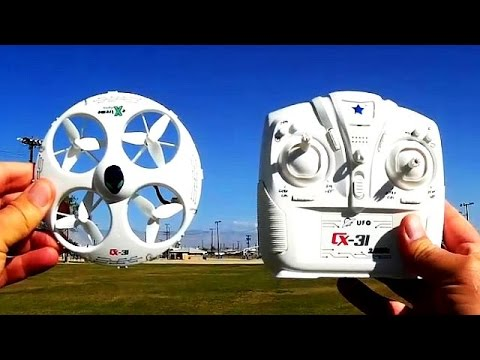 Cheerson CX-31 UFO Drone Test Flight Review