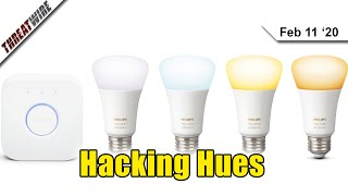 Hacking Philips Hue Lights To Hack Whole Networks  - ThreatWire