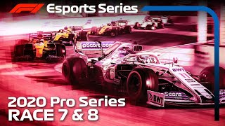F1 Esports Pro Series 2020: Rounds 7 & 8 LIVE!