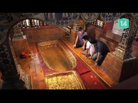 พาเที่ยว จ.ลำพูน นมัสการวัดพระพุทธบาทตากผ้า - วันที่ 04 Mar 2018