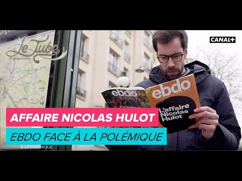Affaire Nicolas Hulot : Ebdo face à la polémique - Le Tube du 17/02 - CANAL+