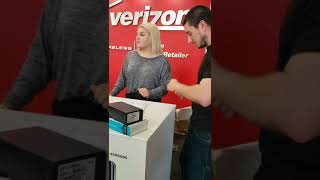 Verizon Wireless Employee Bullys Customer