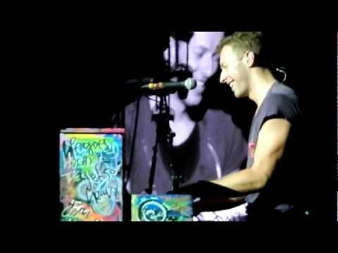Coldplay with oh oh Den Haag & Don't let it break your heart at Malieveld 6 sep. 2012