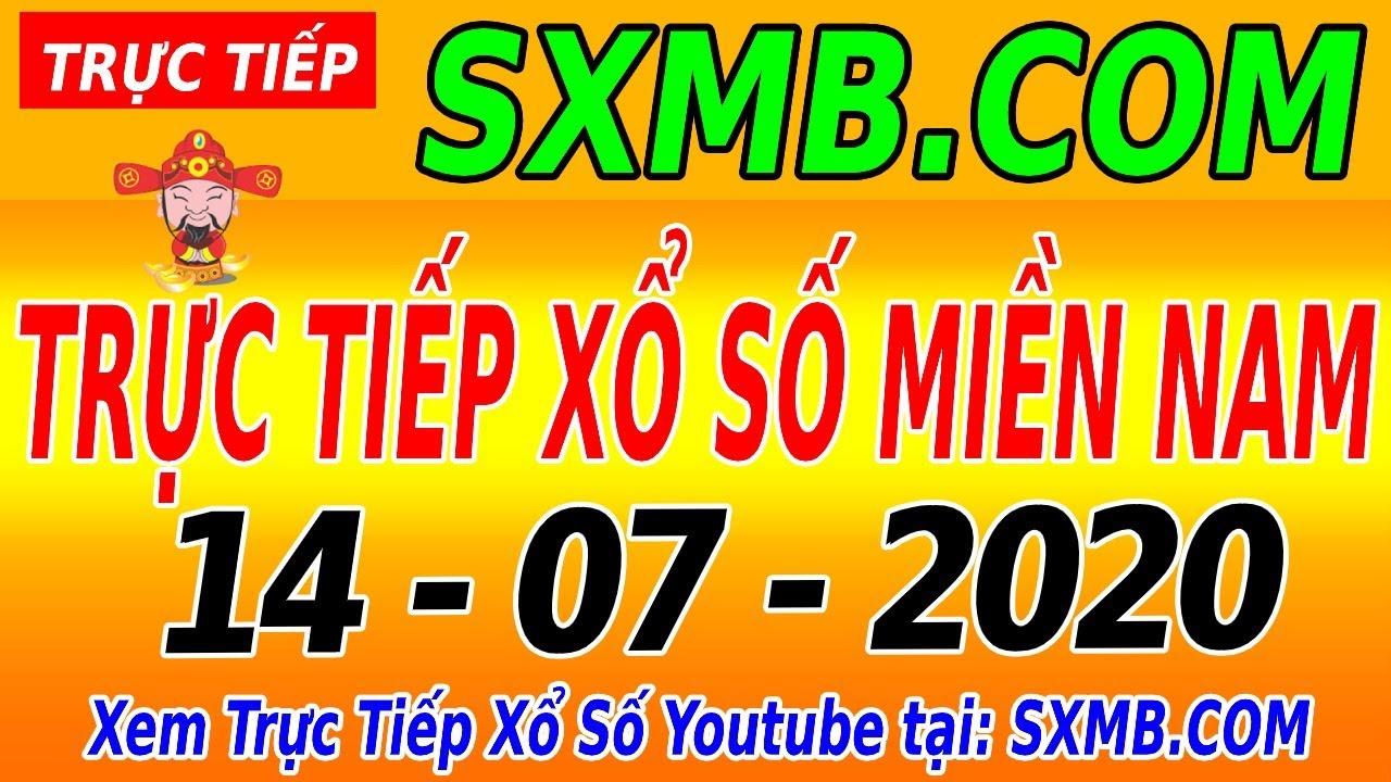 XSMN TRỰC TIẾP XỔ SỐ MIỀN NAM HÔM NAY THỨ 3 NGÀY 14/07/2020, KQXS MIEN NAM