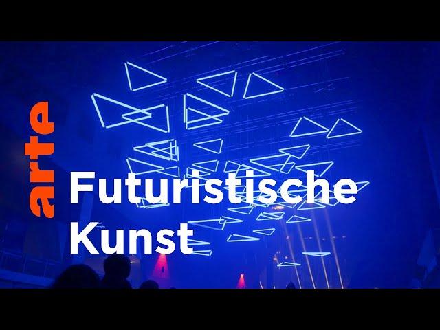 TRACKS: Tanzende Lichtelemente und futuristische Neuro-Games | ARTE