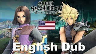 SSBU - What if Hero (Luminary) and Cloud were English Dubbed...