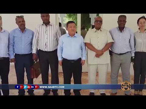Safiirka Somaliland u fadhiya Jabuuti Oo Qaabilay shirkado Maal Gashi
