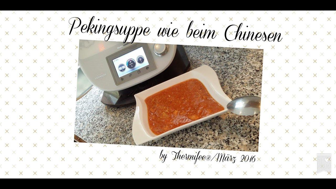 pekingsuppe wie beim chinesen