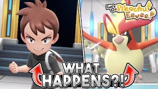 What Happens If You LOSE Your Champion Rematch In Pokemon Let's Go Pikachu & Eevee?