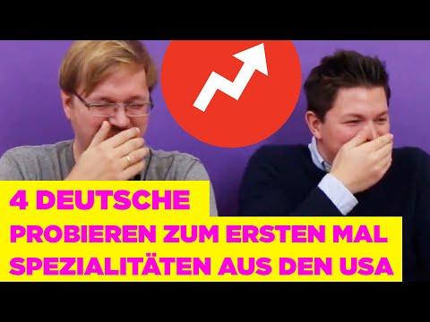 Das passiert, wenn 4 Deutsche zum ersten Mal Spezialitäten aus den USA essen