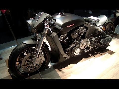 Indian Scout Custom Dragster Cafè Racer motorcycles