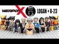 LEGO X-Men Origins Wolverine Logan X-23 Laura Kinney X-Force Unofficial Minifigures