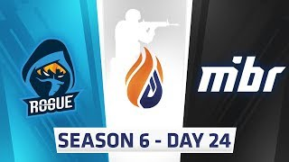 ECS Season 6 Day 24 Rogue vs MIBR - Overpass