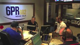 Ashley Wilson & James Ketchell on 6PR News Talk Perth