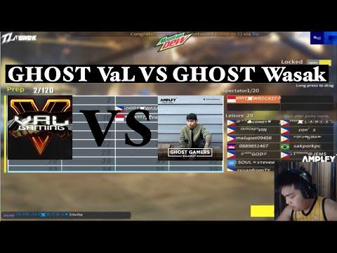 GHOST VaL  VS GHOST Wasak ( 4 - 1 ) #WRECKERJR