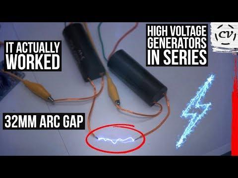 1000 kv Ultra-high Voltage Pulse Inverter Arc Generator Ignition