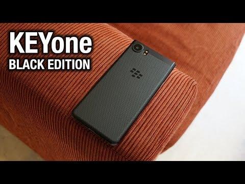 BlackBerry KEYone Black Edition: New look, more power!