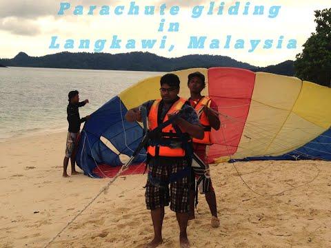 Parachute gliding in Langkawi/ Malaysia/ Nams Vlog