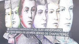 Encabeza Gobernadora ceremonia por 170 aniversario de gesta de Niños Héroes