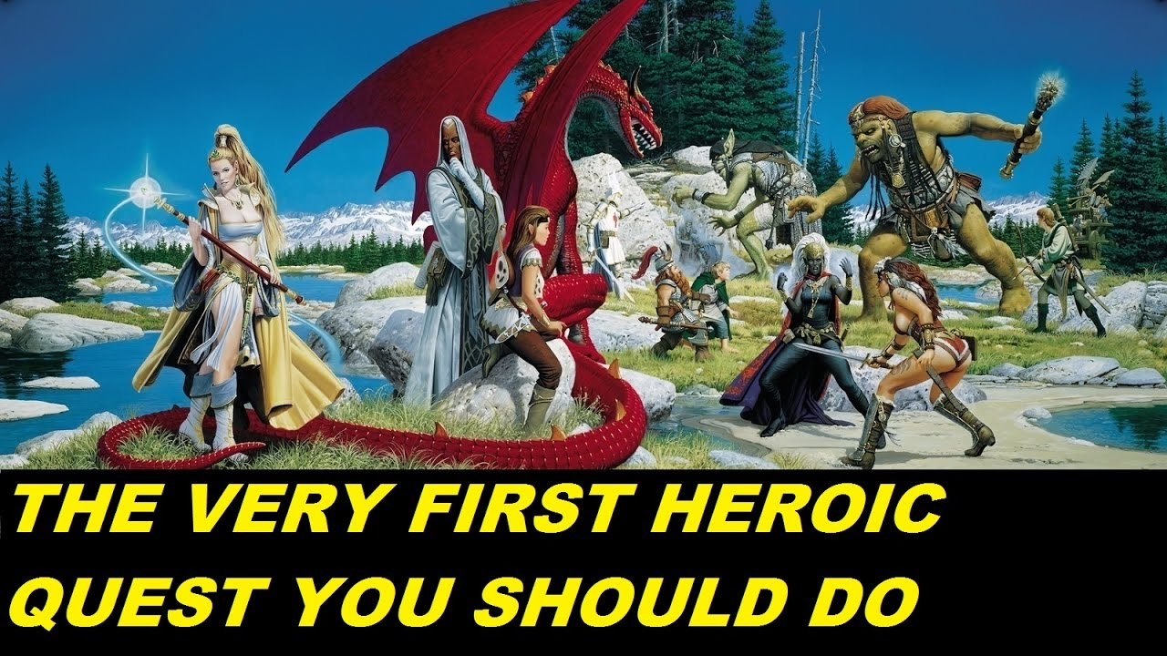 EVERQUEST LIVE - The very first Lvl 85 Heroic quest you should do - No  Heroism Without Fear (1080p)