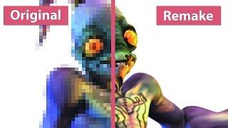 Oddworld: Original gegen Remake - Vergleichs-Video