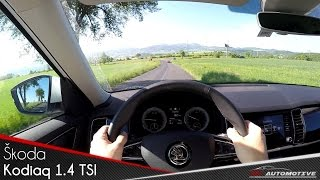 Skoda Kodiaq 1.4 TSI 4x4 POV Test Drive + Acceleration 0 - 200 km/h
