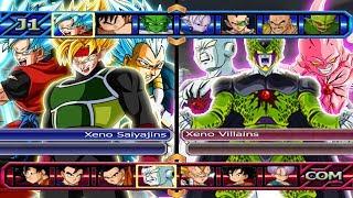 Baixar Xeno Saiyajins VS Xeno Villains | Dragon Ball Z Budokai Tenkaichi 3
