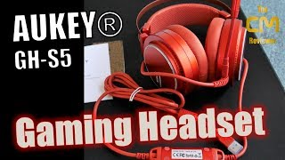 AUKEY GH-S5 Test: Virtual surround 7.1 Channel RGB Gaming Headset mi...