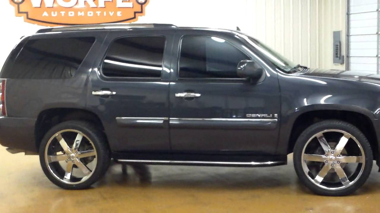 Gmc Yukon Denali Awd Suv Youtube