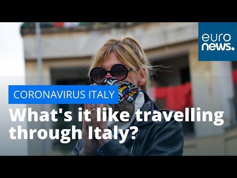 #Coronavirus : What's it like travelling through Italy amid the COVID-19 lockdown?