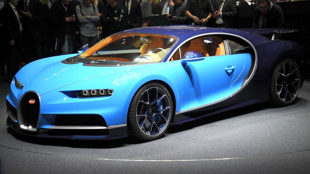 2017 bugatti chiron first look - 2016 geneva motor show - youtube