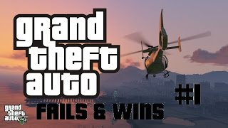 GTA 5 Fails & Wins #1 (Grand Theft Auto V Funny Moments)