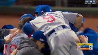 10/11/16: Cubs rally in the 9th to reach the NLCS