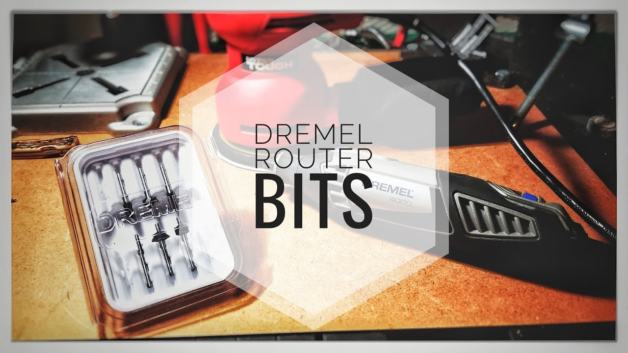 Dremel Router Bits New Tools For Channel Youtube