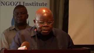H. E. Benjamin William Mkapa's remarks on Development Cooperation and Business in Africa