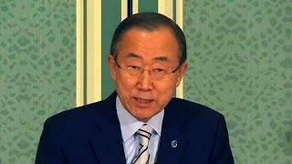Пан Ги Мун пытается достичь перемирия в секторе Газа