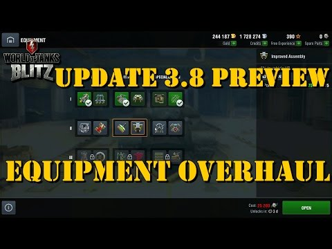 Equipment Overhaul | Update 3.8 Preview | WoT Blitz