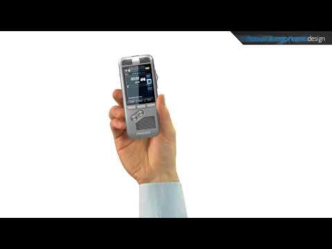Philips Digital Pocket Memo - Robust and ergonomic design