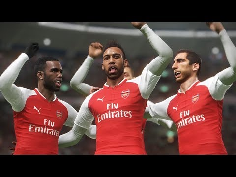 Mkhitaryan \u0026 Aubameyang  2018 ● Welcome To Arsenal  Gameplay  PES 2018