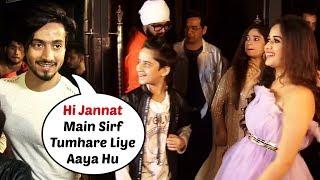 Mr Faisu At Jannat Zubair New Song 'Ishq Farzi' Success Party