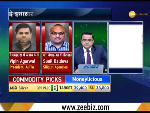 Commodity Live: Recognized warehouse of NCDEX fails quality check