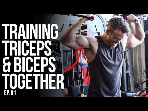 Training Triceps & Biceps Together | Rob Riches | Ep. 1