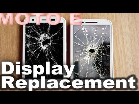 Moto E 1st gen Screen Replacement Tutorial !! moto e 1st generation disassembly