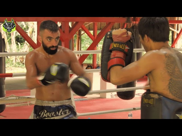 Silvio Training Highlights | Emerald Muay Thai gym