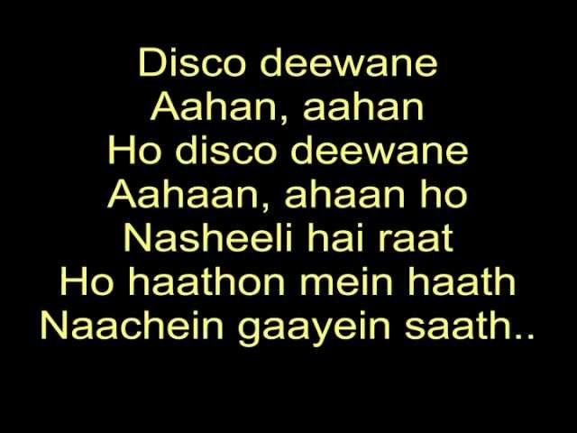 The Disco Song - Disco Deewane | Student Of the Year | Lyrics Travel Video