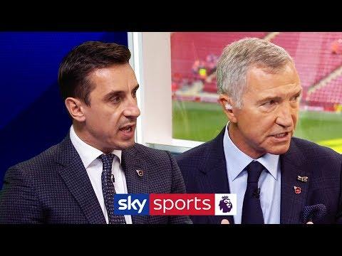 Gary Neville & Graeme Souness disagree over Spurs' spending habits   Super Sunday