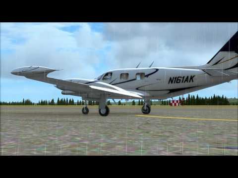 ( FSX ) Sármellék - Korfu on IVAO with Carenado Piper T31 Cheyenne II  [ HUN ]