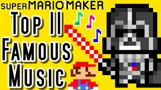 super mario maker top 11 famous music levels wii u