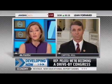 Rob Wittman talks sequestration with Chris Jansing